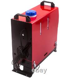 5KW Diesel Air Heater 12V LCD Thermostat Remote Control Trucks Bus Motorhome Car