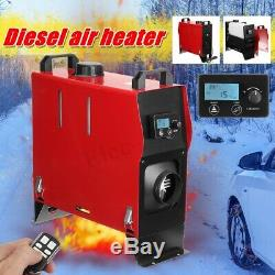 8KW 12V Air Diesel Heater All In 1 LCD Thermostat Remote For Trailer Truck Car