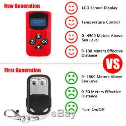 8KW 12V All In One Diesel Air Heater LCD Thermostat Remote Truck Boat MotorHome
