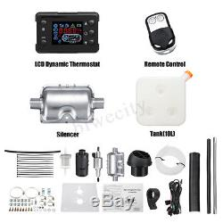 8KW 12V Diesel Air Heater Metal Shell LCD Remote For Trucks Cars Boat Trailers