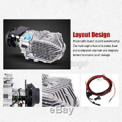 8KW 12V LCD Thermostat Air Diesel Heater Remote Control Car Truck Trailer RVs US