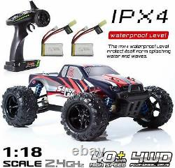 9300 4WD Remote Control Car 118 Scale 2.4G 30+ km/h High Speed RC Truck