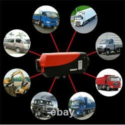Air Diesel Heater 5KW 12V Car Boat Truck Quiet Parking Heater Remote LCD Monitor