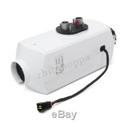 Aluminum alloy 8KW 12V Air Diesel Heater LCD Remote For Car Truck Boat Bus
