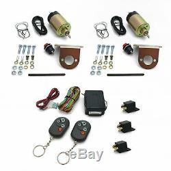 Automatic Remote Keyless Entry Lambo Shaved Door Conversion Kit & Emergency Latc