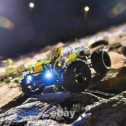 BEZGAR Remote Control/RC Fast Racing Car/Truck 116 Large Size Off Road 4WD