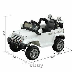 BLACK FRIDAY SALE 12V Kids Electric Ride Toy Truck Jeep Car with Remote Control