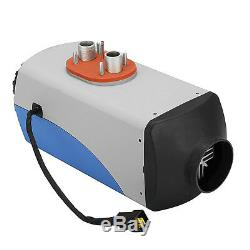 Blue+Grey 12V 5KW LCD Air Diesel Heater 10L Tank Remote for Truck Car Boat Bus