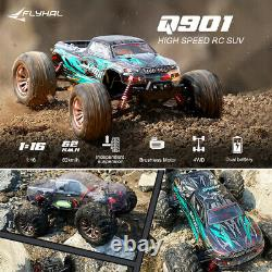 Brushless Remote Control Truck 50mph 62KM/H High Speed 4WD 116 Scale Car