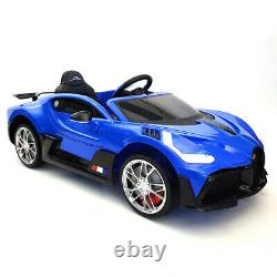 Bugatti Divo Kids Ride Battery Powered Electric Car withRemote Control