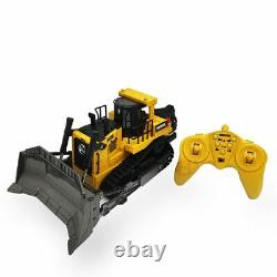 Bulldozer Machine on Control Car Toys for kids 116 Remote Control Truck 8CH RC