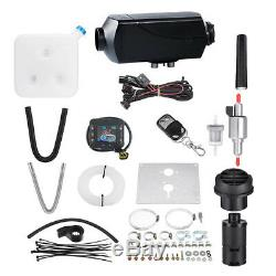 Car RV Truck 5KW Air Diesel Heater with Silencer 10L Tank Remote Controller Kit