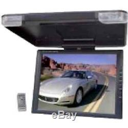 Car SUV Truck TV Monitor Roof Mount Wireless Remote Movies Music DVD Video Kids