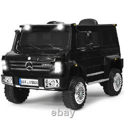 Costway Mercedes-Benz Unimog Ride On Car 12V Off Road SUV Truck with Remote Contro