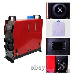 Diesel Air Heater 12V 5KW All In One For Car Bus Truck Motorhomes withRemoter &LCD
