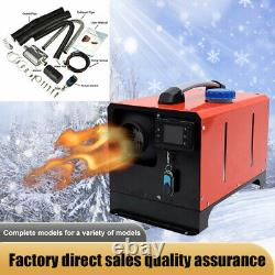 Diesel Air Heater 12V 5KW Remote Control LCD Switch All In One for Car Trucks RV
