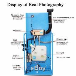 Diesel Air Heater 3KW 12V LCD Monitor Remote Silencer For Truck Boat Car Trailer
