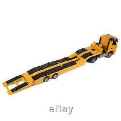 E562 120 15KM/h Remote Control Tow Truck Trailer Transport Engineering Car Toy
