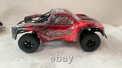 Exceed RC 1/10 RC RTR Remote Control Truck RC Car Red Ready to Run Open Box