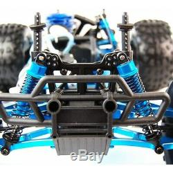 Fast Nitro Petrol Rc Remote Controlled 2.4ghz Off Road Monster Truck 1/10 Scale