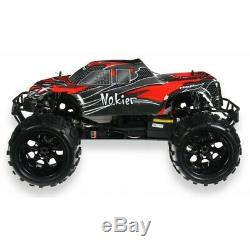 Fast Nitro Petrol Rc Remote Controlled 2.4ghz Off Road Monster Truck 1/8 Scale