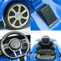 For Audi 12V Electric Car Kids Ride On Truck Remote Control LED Light MP3 Music