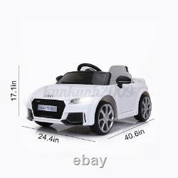 For Audi 12V Electric Car Kids Ride On Truck Toy Remote Control LED Lights Music
