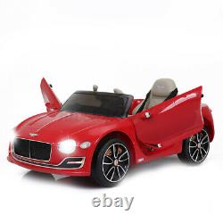For Bentley 12V Electric Kids Ride On Car Truck Toy Remote Control LED MP3 Music