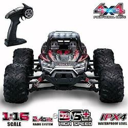 GoStock Remote Control Car, 4WD RC Car 36km/h High Speed Off-Road Monster Truck