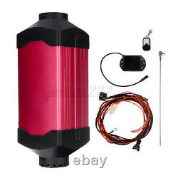 HCalory Diesel Air Heater 8KW 12V Fuel Heating Remote For Car Truck Trailer US