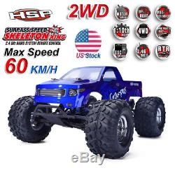 HSP 110 Scale 2wd Brushless Monster Truck Electric Power Remote Control Car TY
