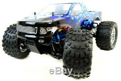 HSP Electric RC Truck PRO Brushless Blue Ice Car Remote Control