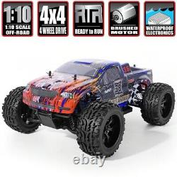 HSP RC Car110 High Speed Off Road Truck Electric Power 4x4 Remote Control Craw