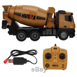 HUINA 114 Electric RC Engineering Mixer Car Remote Control Truck Vehicle Toys