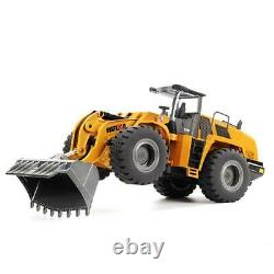 HUINA Loader Model Toys 583 RC Truck 1/14 10CH Cars Gifts 2.4G Remote Control