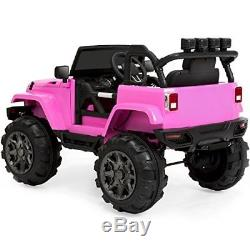 Heavy Duty 12V Jeep Ride On Car Truck Power Wheels With Remote Control KIDS GIFT