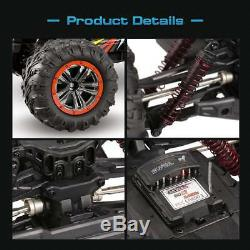 Hosim RC Car 110 Scale 4WD 2.4Ghz Off-road Remote Control Monster Truck Red