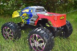 King Rock Crawler 4wd Off Road Monster Truck Radio Remote Control Car 1/10