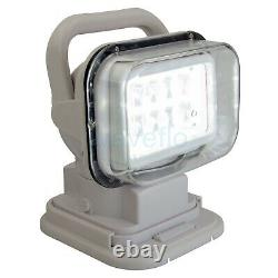 LED Marine Searchlight Boat Remote Control Spot Light for Offroad Truck Car 50W