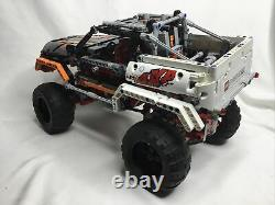LEGO Technic 4X4 Crawler (9398) INCOMPLETE NO REMOTE UNTESTED With Instruction