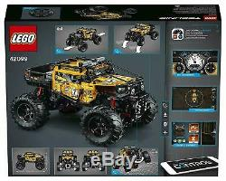 LEGO Technic 4x4 Crawler Monster Truck Remote Control Toy Car Off Road (42099)