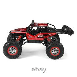 Large 1/8 4WD RC Car Monster Truck 2.4G Remote Control Off-Road Vehicle Toy Gift