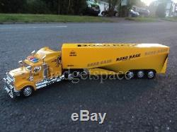 Large American Truck Lorry 49cmL Radio Remote Control Car LED Headlights -YELLOW