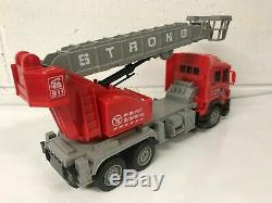Large Fire Engine Radio Remote Control Truck Car Led Lights Boxed