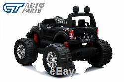 Licensed 4WD Ford Ranger Car Monster Truck Kid Toy Rid on Remote Control Black