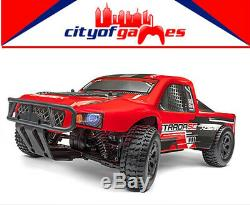 Maverick Strada Red Remote Control RC Car 2.4Ghz 1/10 4WD Electric SC Truck