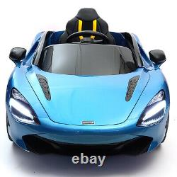McLaren 720S Kids Ride Battery Powered Electric Car with Remote Control