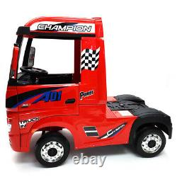Mercedes Benz Actros Truck Kids Ride Battery Powered Electric Car withRemote