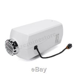 Metal 12V 5000W Air diesel Heater LCD Monitor Remote 5KW For Trucks Boat Bus Car