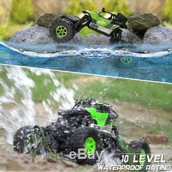 Monster Truck 4x4 Remote Control RC Car 4WD For Kid Boy Large Rock Crawler Gift